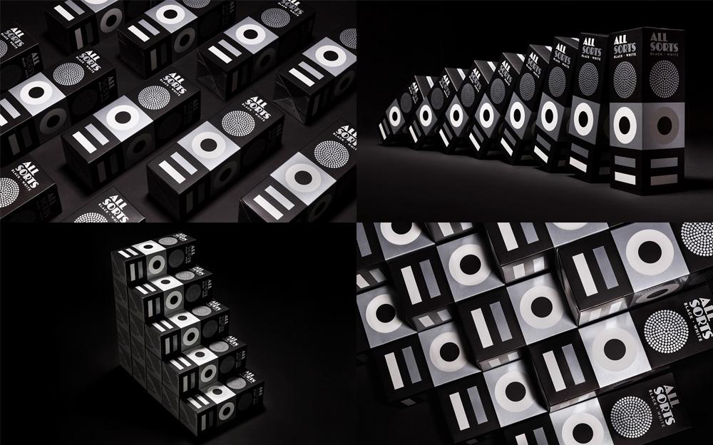 Allsorts Black and White by Bond