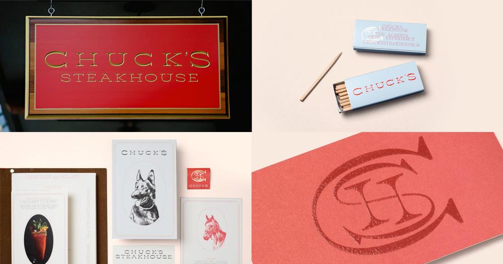 Chuck's Steakhouse by Glasfurd & Walker