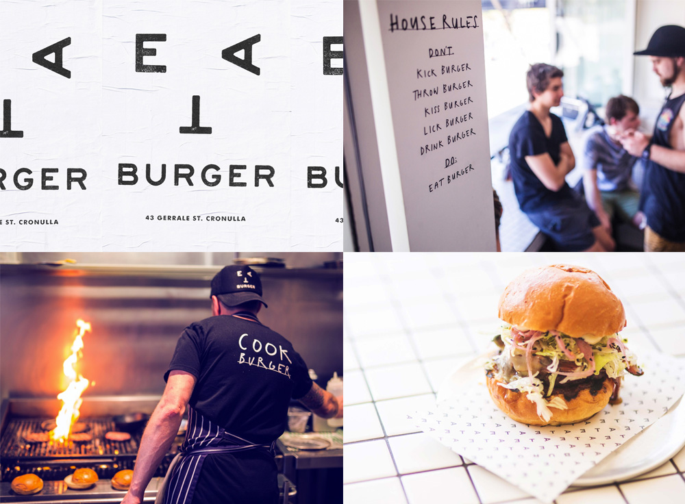 Eat Burger by Christopher Doyle & Co.