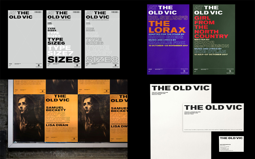The Old Vic by Pentagram