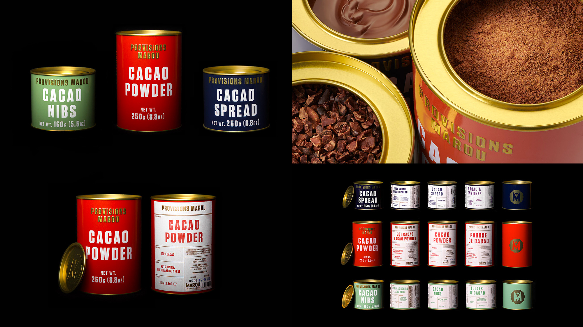 Provisions Marou by Rice Creative
