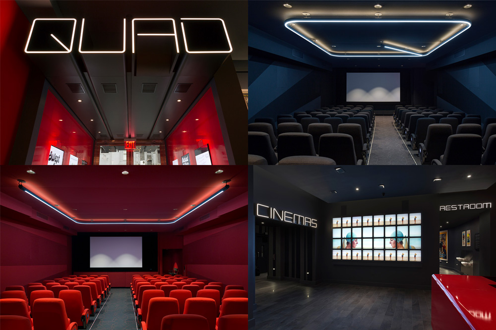 Quad Cinema by Pentagram