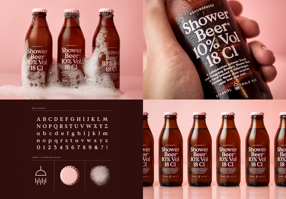 Shower Beer by Snask