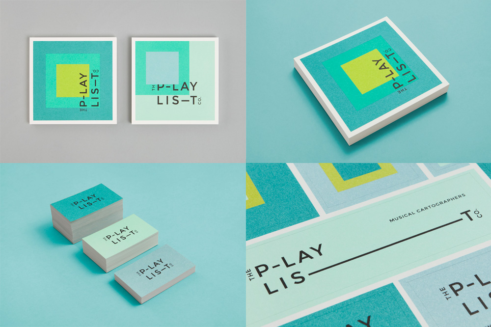 The Playlist Company by Blok Design