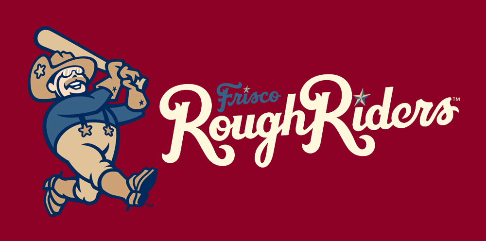 New Logos for Frisco RoughRiders by Brandiose