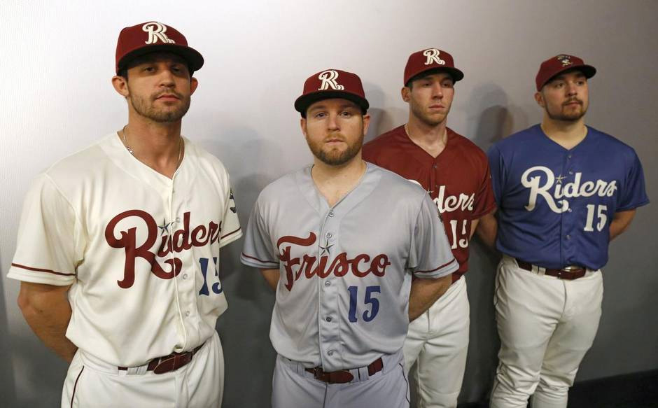 brand new  new logos for frisco roughriders by brandiose