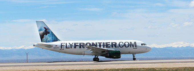 Brand New: New Logo and Livery for Frontier Airlines