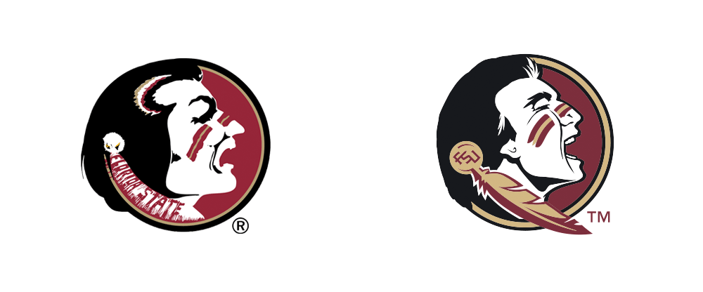 Brand New New Logo Identity And Uniforms For Fsu Seminoles By Nike