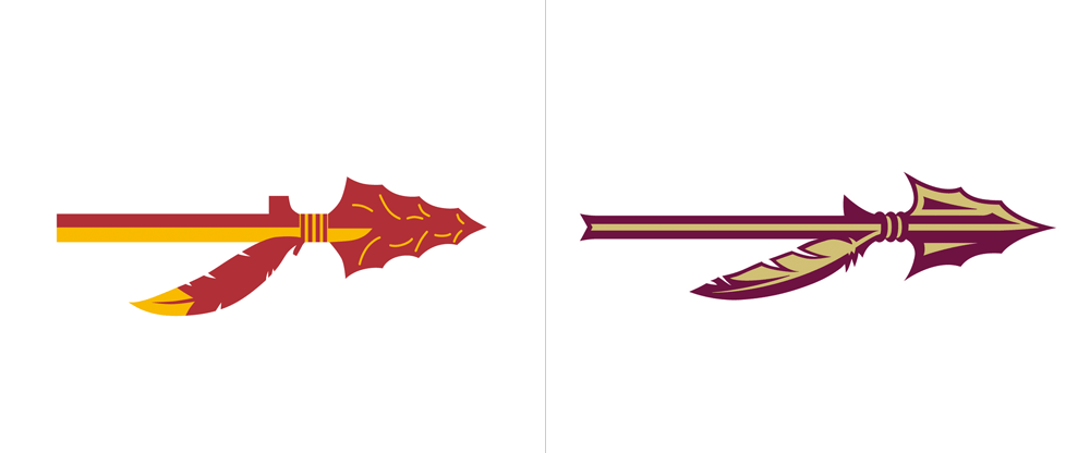 brand new new logo  identity  and uniforms for fsu american football clipart vector american football clip art helmets