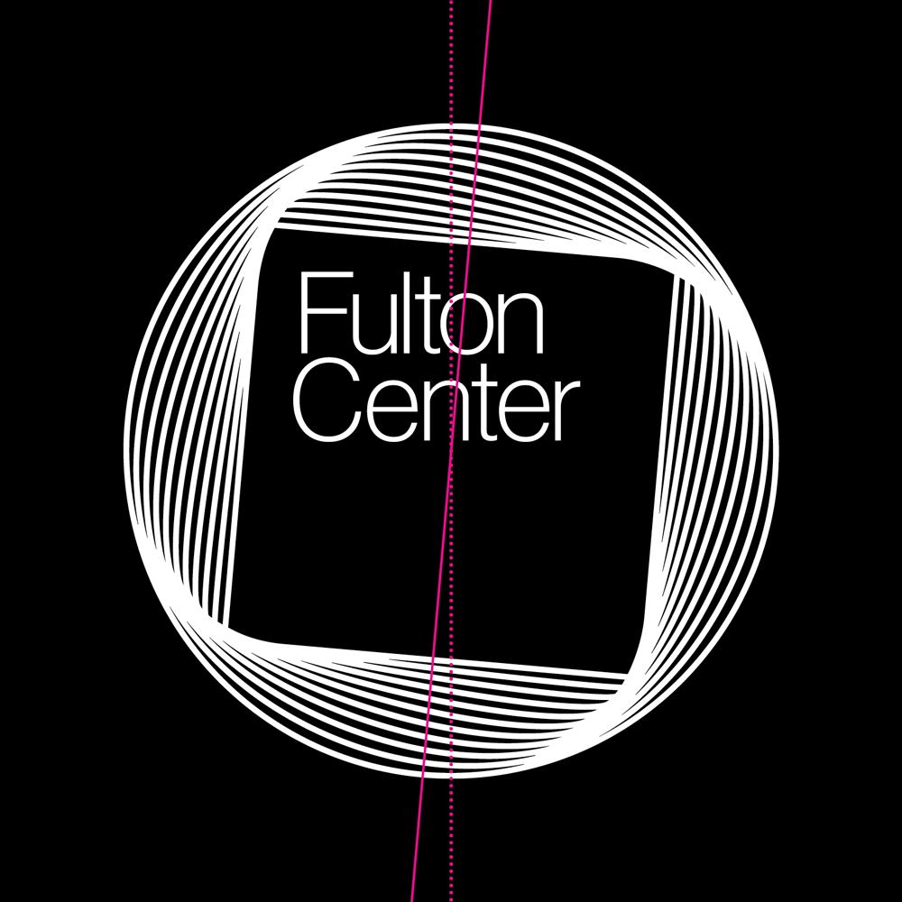 New Logo for Fulton Center by Pentagram