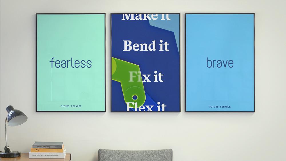 New Logo and Identity for Future Finance by DesignStudio