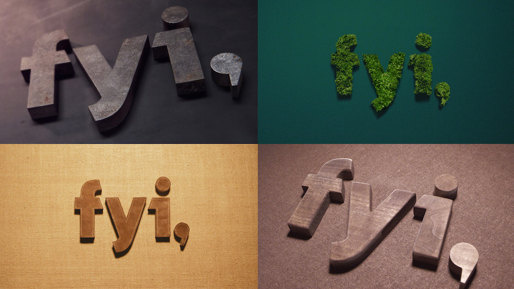 New Logo and On-air Look for FYI by loyalkaspar