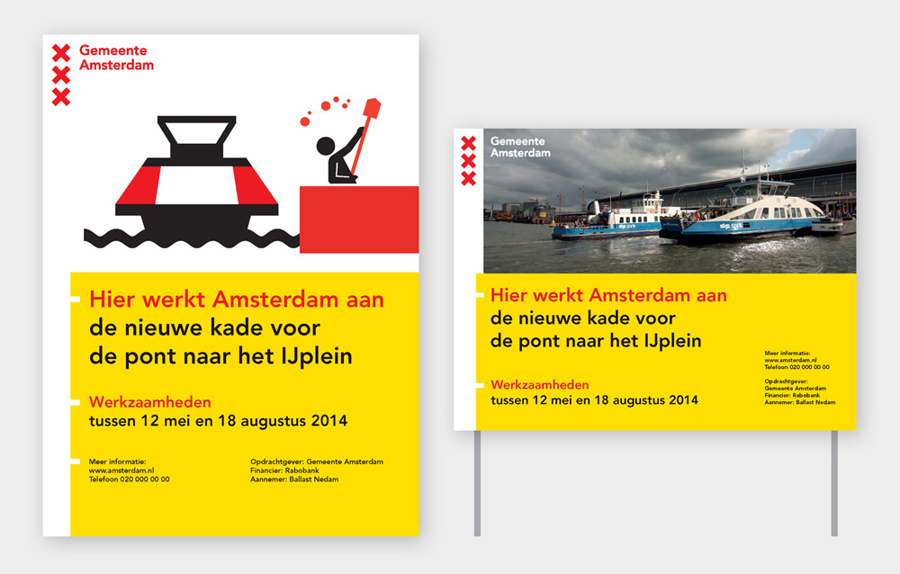 New Logo and Identity for the City of Amsterdam by edenspiekermann and Thonik