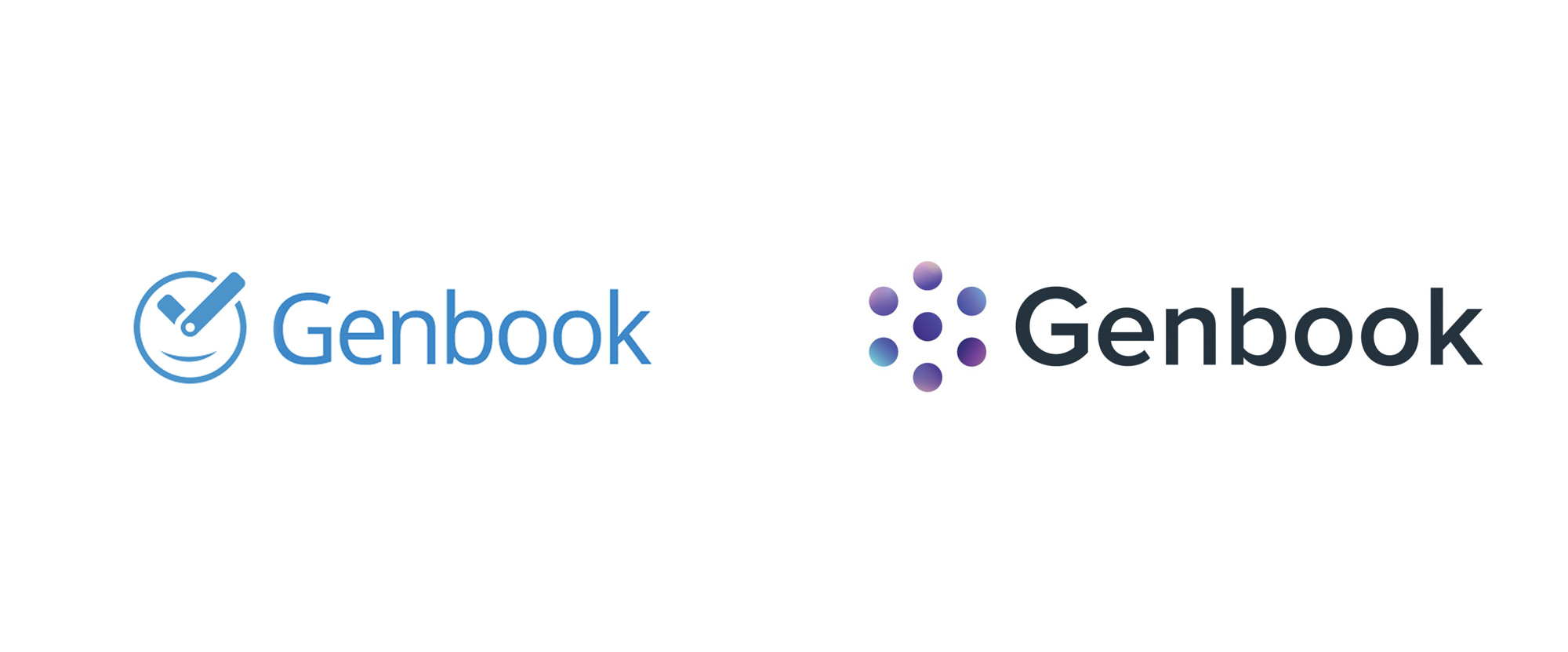New Logo for Genbook done In-house