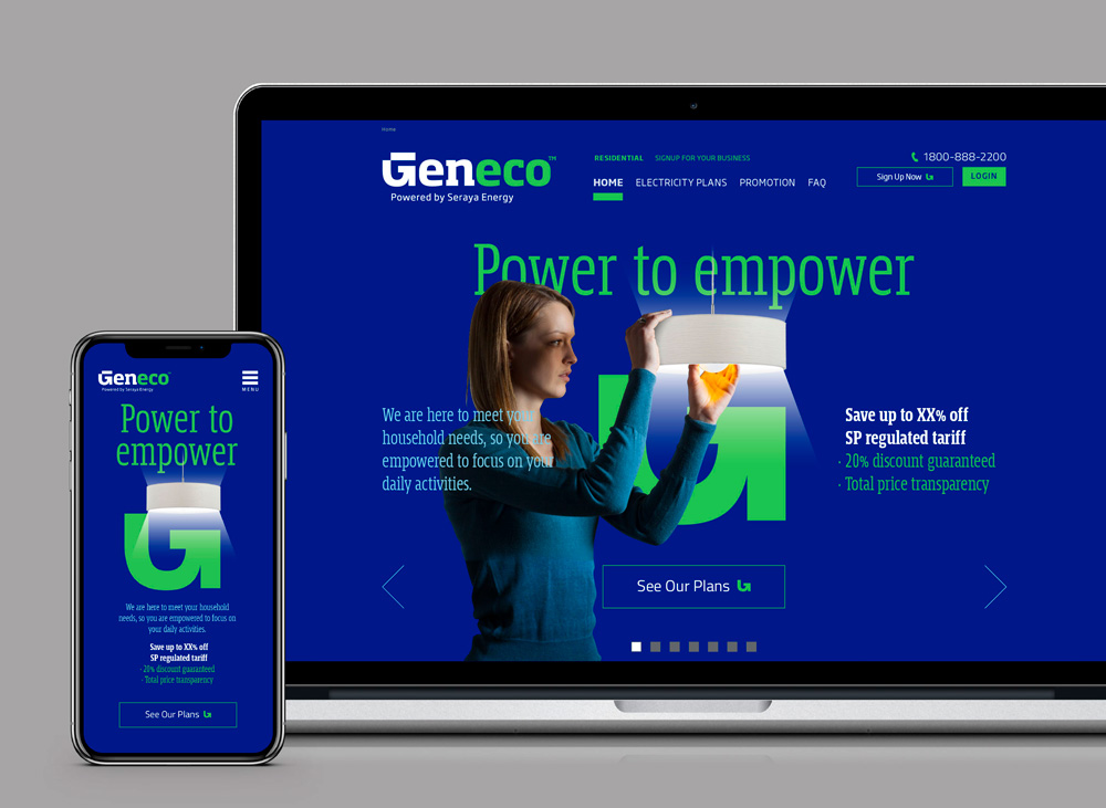 New Logo and Identity for Geneco by Brandient