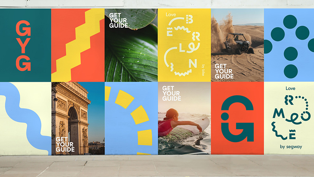 New Logo and Identity for GetYourGuide by DesignStudio