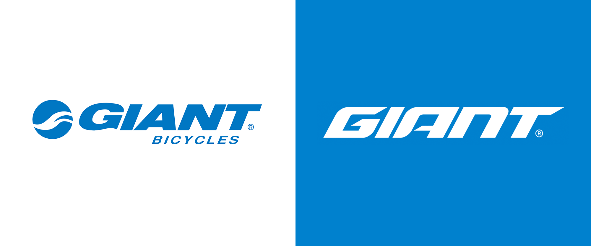 New Logo for Giant Bicycles