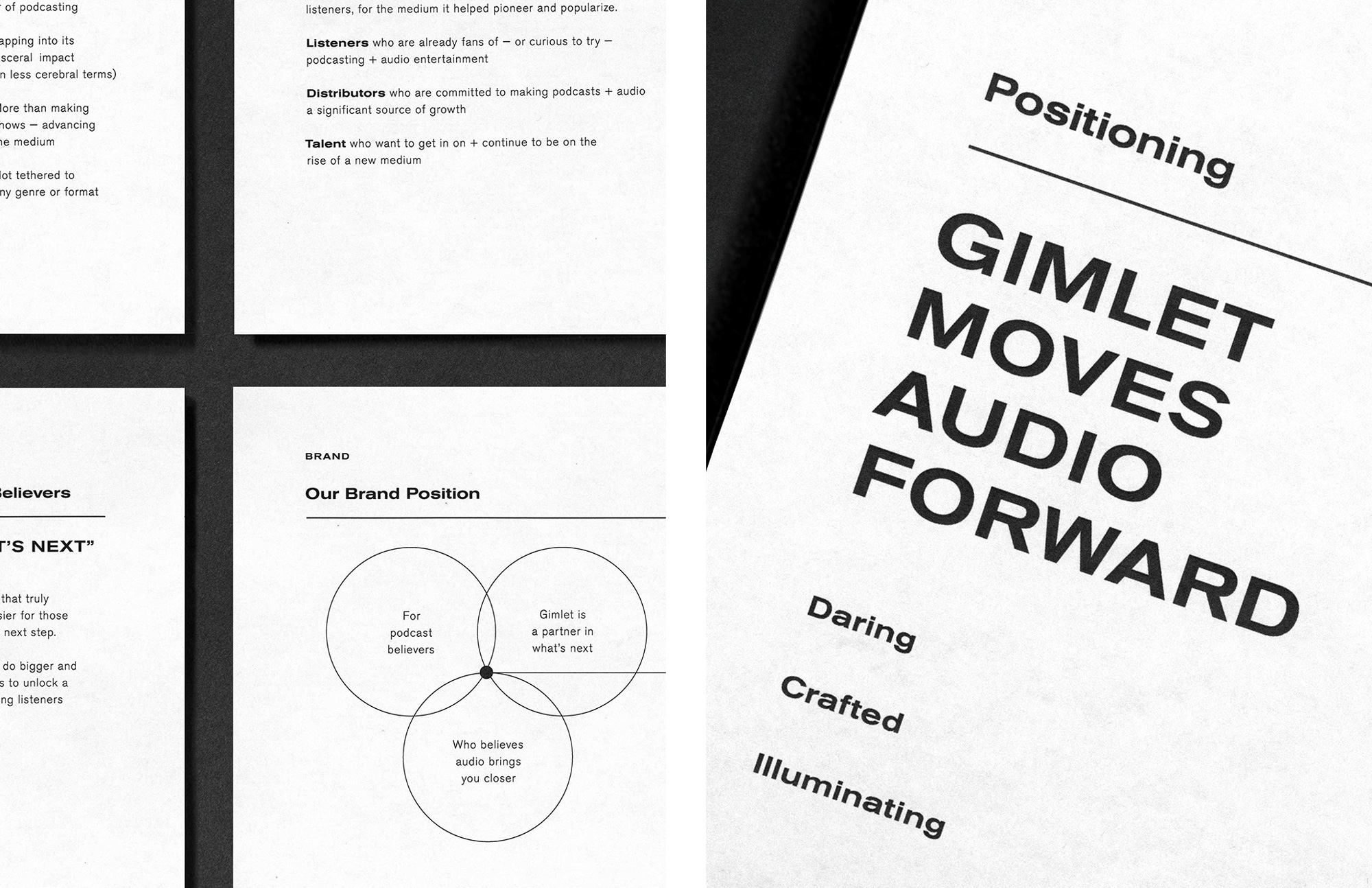 Follow-up: New Logo and Identity for Gimlet Media by Grand Army