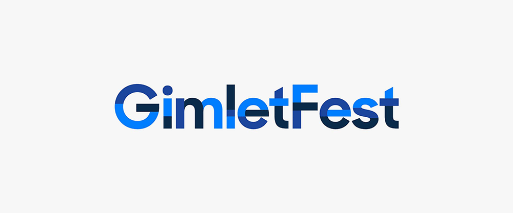 New Logo and Identity for GimletFest by The Collected Works