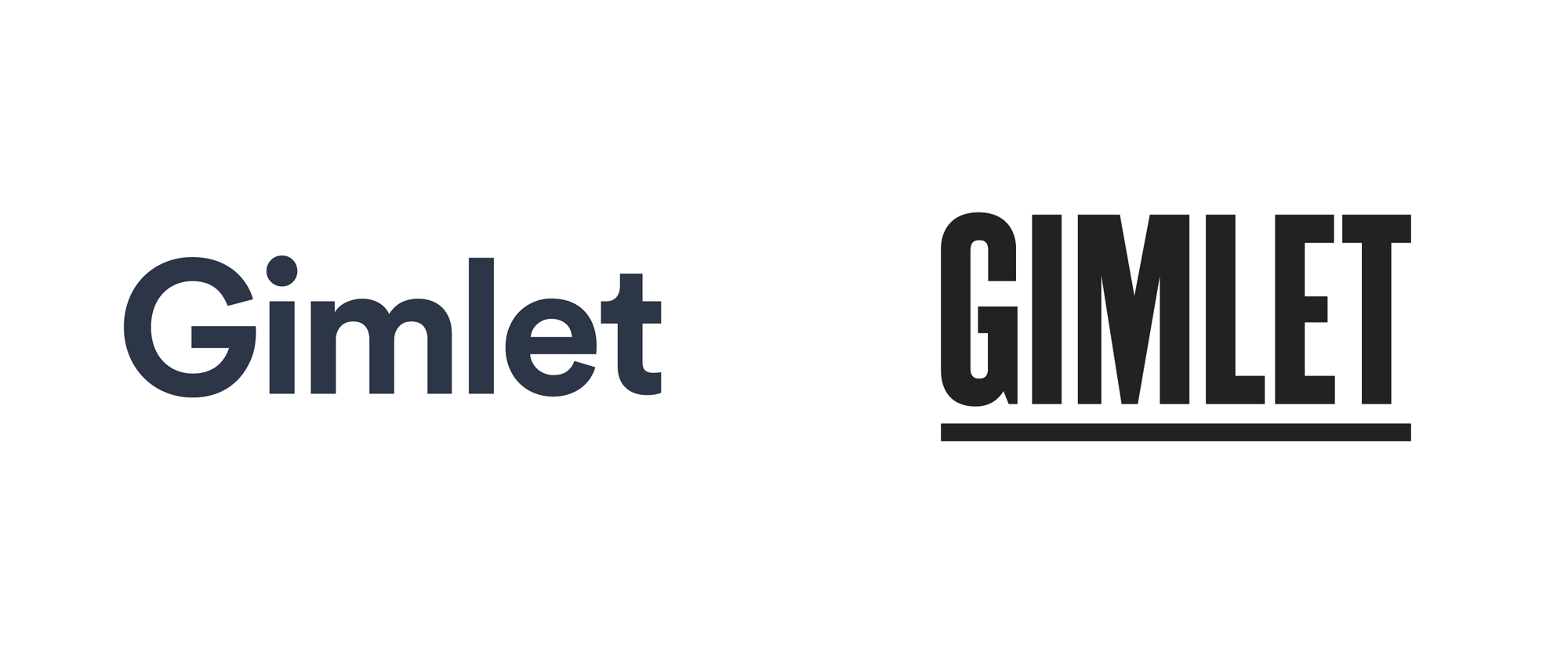 New Logo for Gimlet