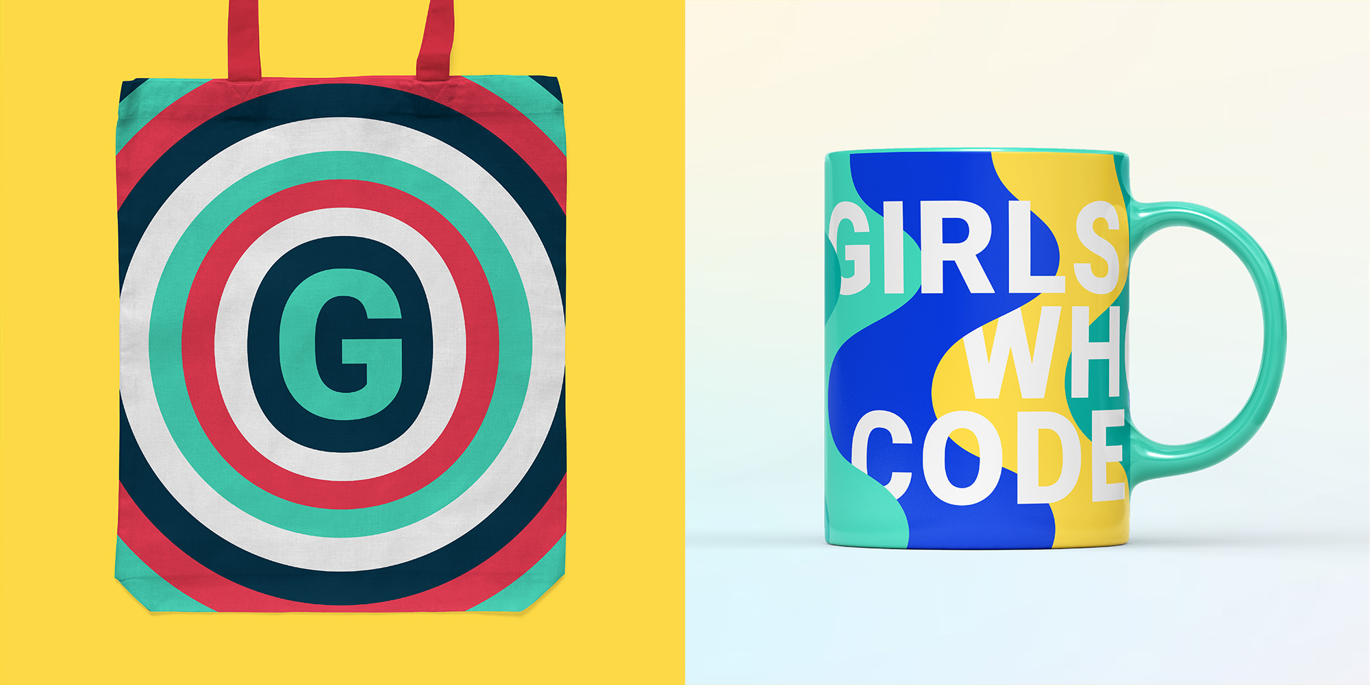 New Logo and Identity for Girls Who Code by Hyperakt