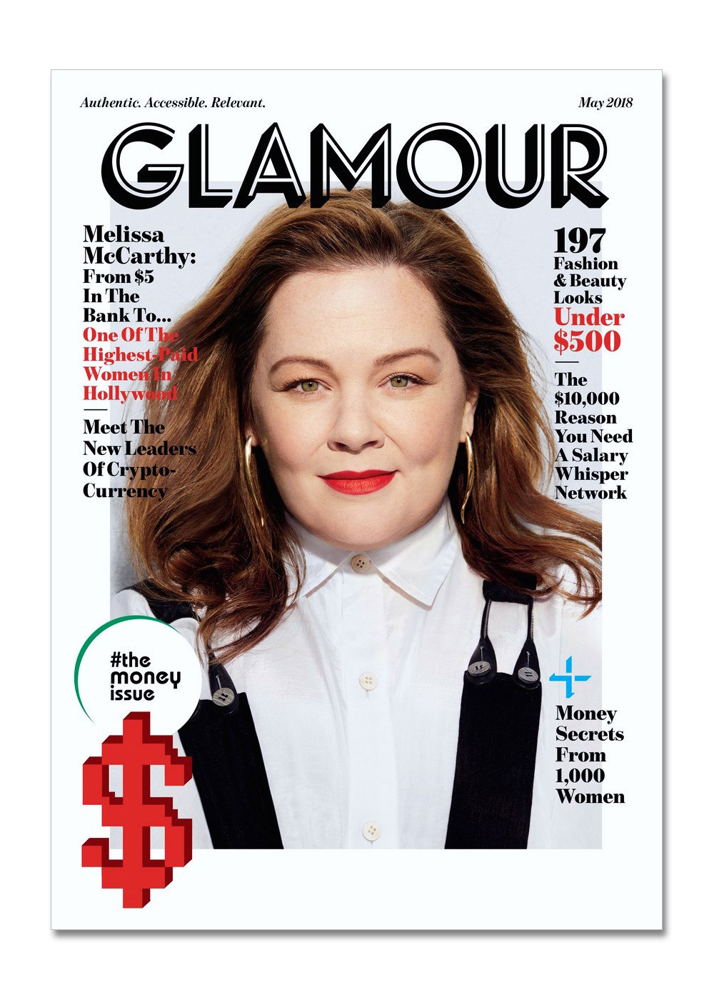 New Logo for Glamour