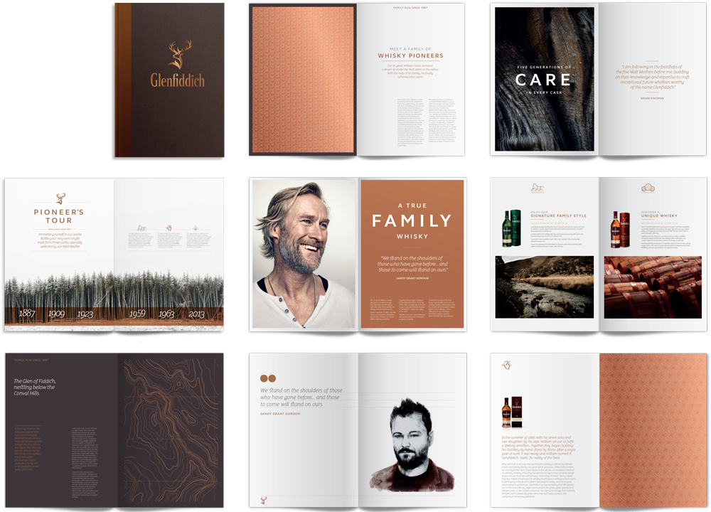 New Logo, Identity, and Packaging for Glenfiddich by Purple