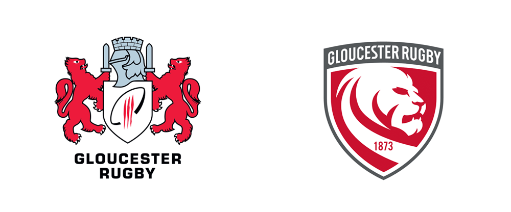 New Logo for Gloucester Rugby