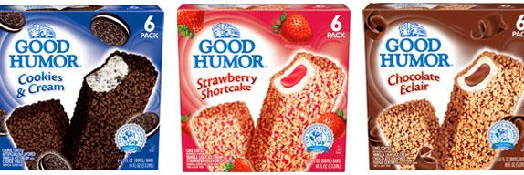 Good Humor, Packaging