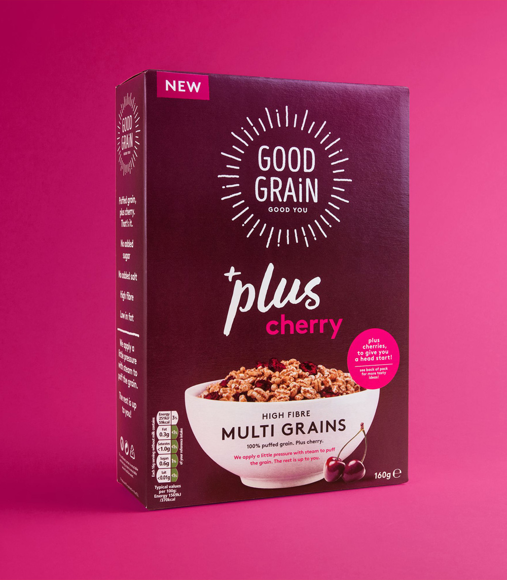 New Logo and Packaging for Good Grain by Robot Food