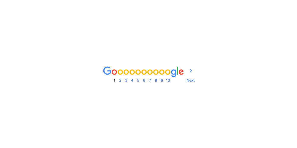 New Logo for Google done In-house
