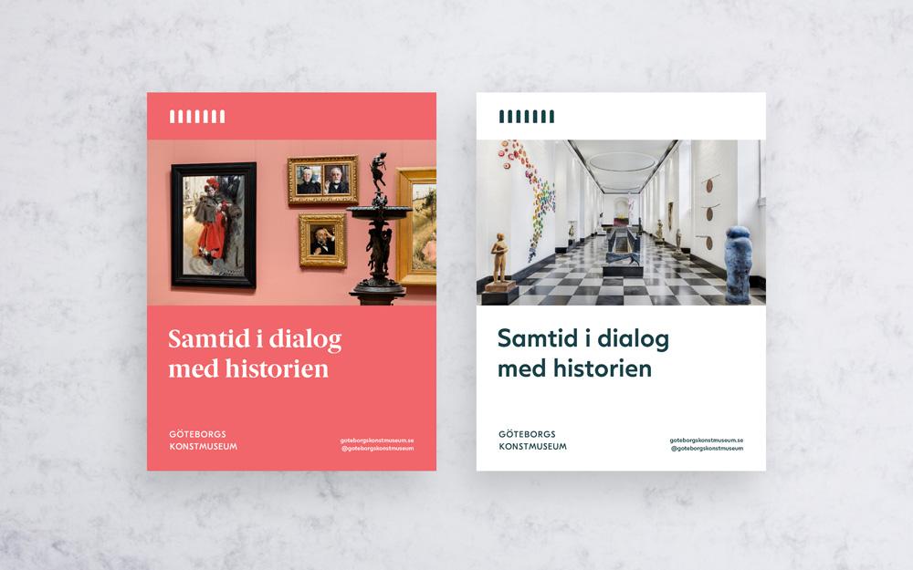 New Logo and Identity for Göteborgs konstmuseum by Brandwork