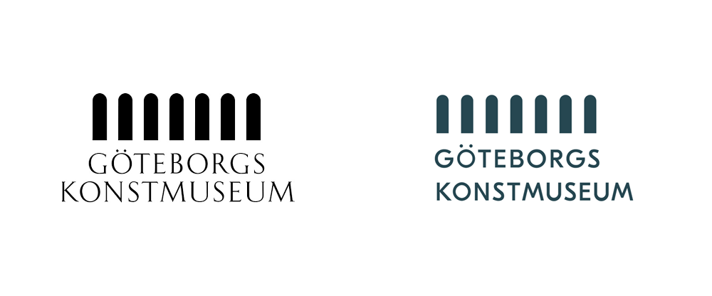 New Logo and Identity for Göteborgs konstmuseum by Brandwork