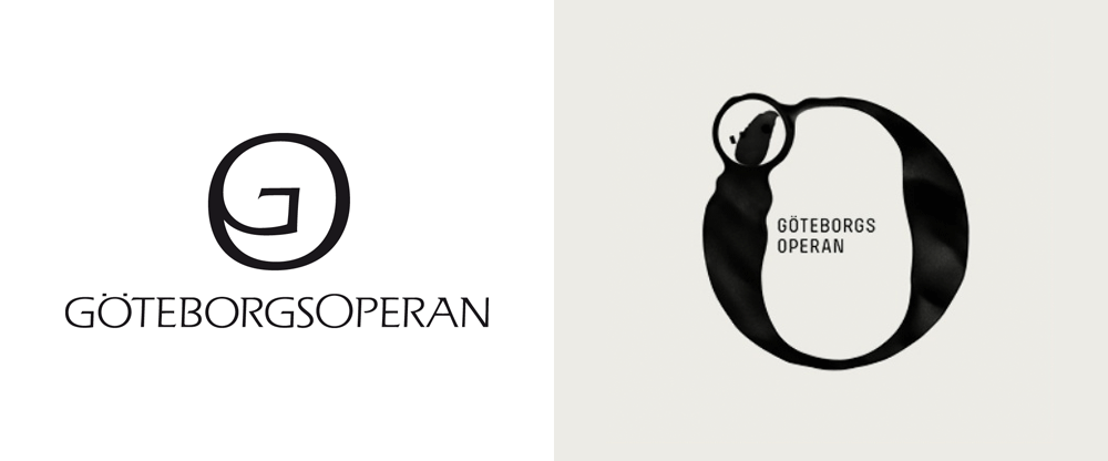 New Logo and Identity for Göteborgsoperan by Happy F&B