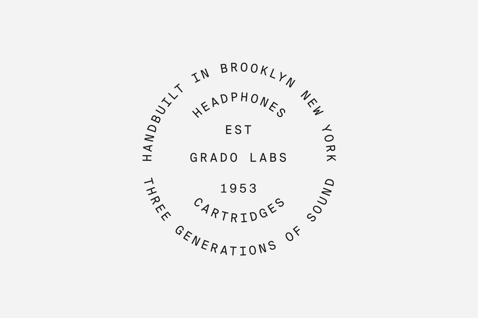 New Logo and Packaging for Grado Labs by High Tide