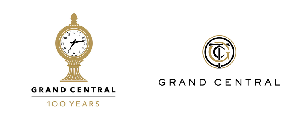 New Logo for Grand Central by The Watsons
