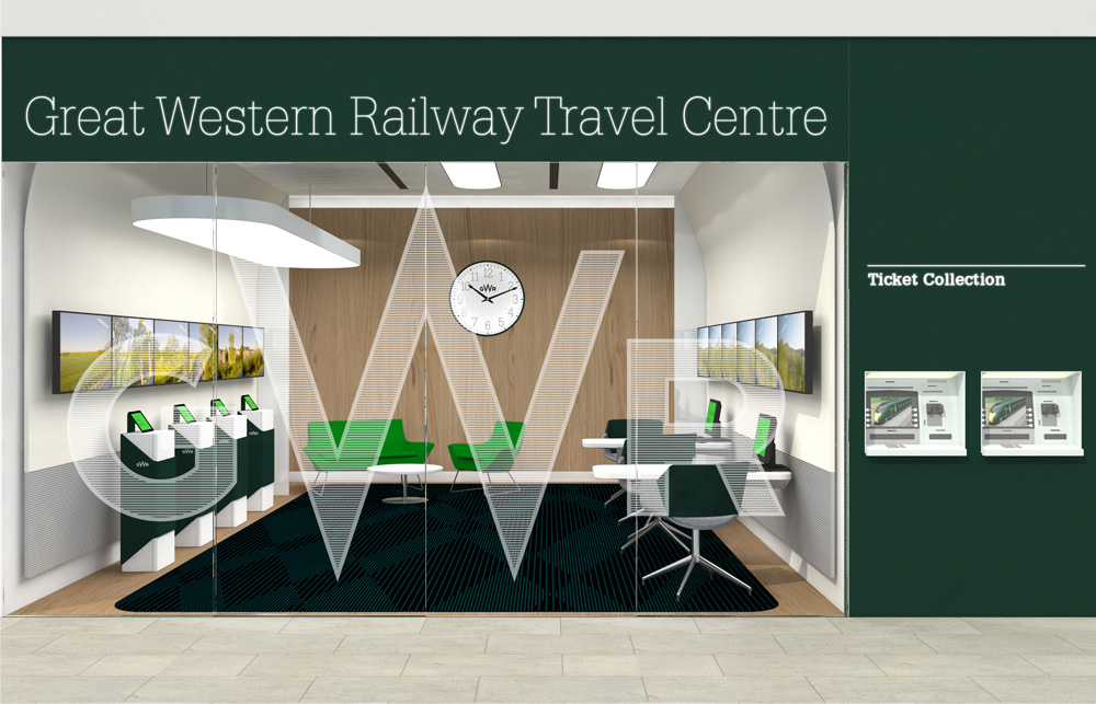 New Logo and Identity for Great Western Railway by Pentagram