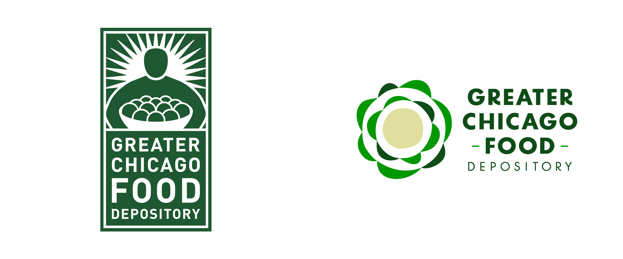 New Logo for Greater Chicago Food Depository by 88 Brand Partners