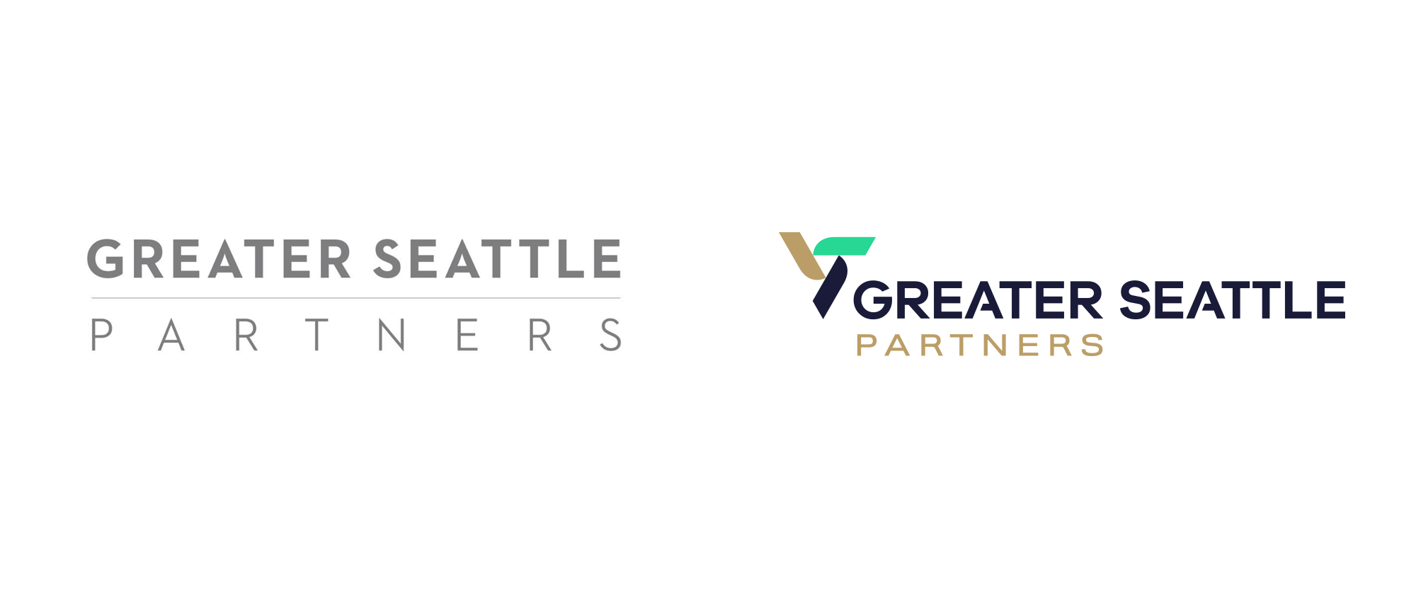 New Logo for Greater Seattle Partners