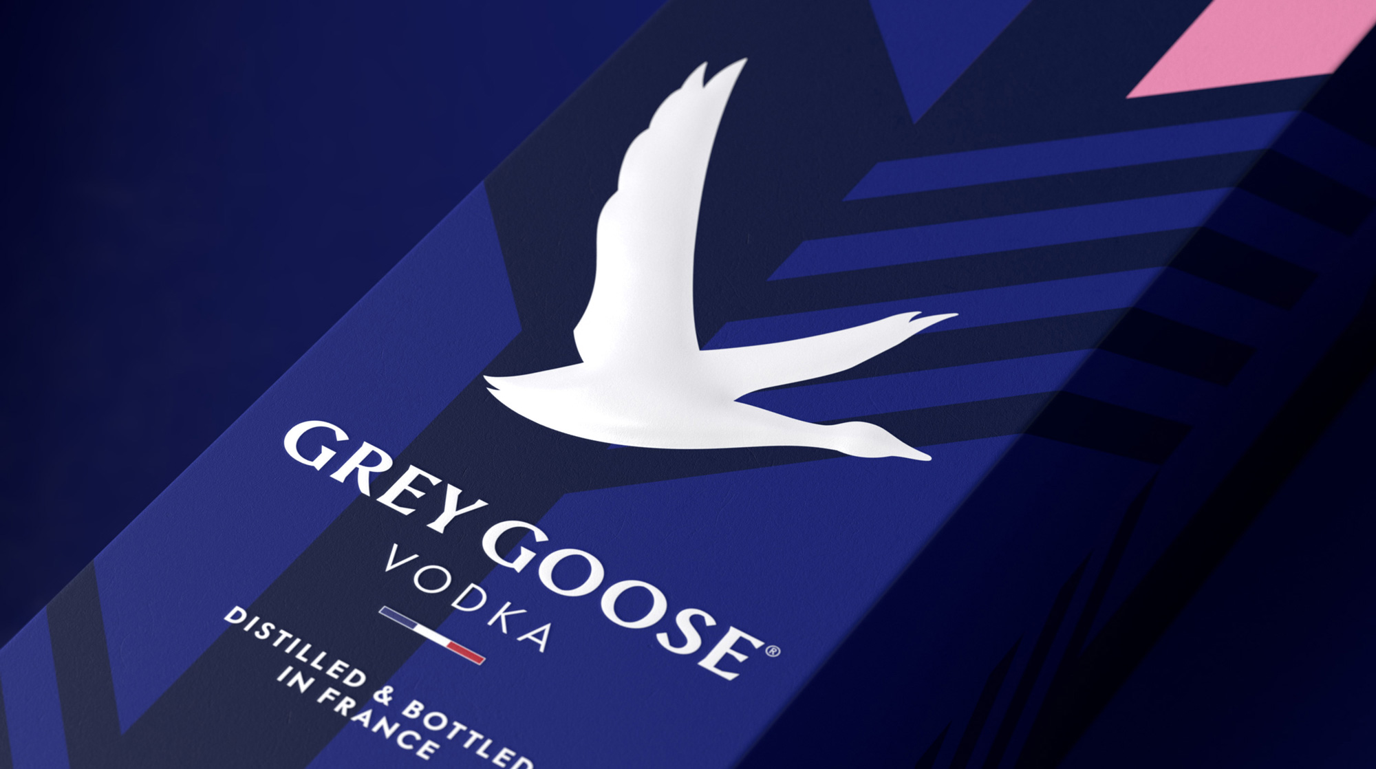New Logo, Identity, and Packaging for Grey Goose by Ragged Edge