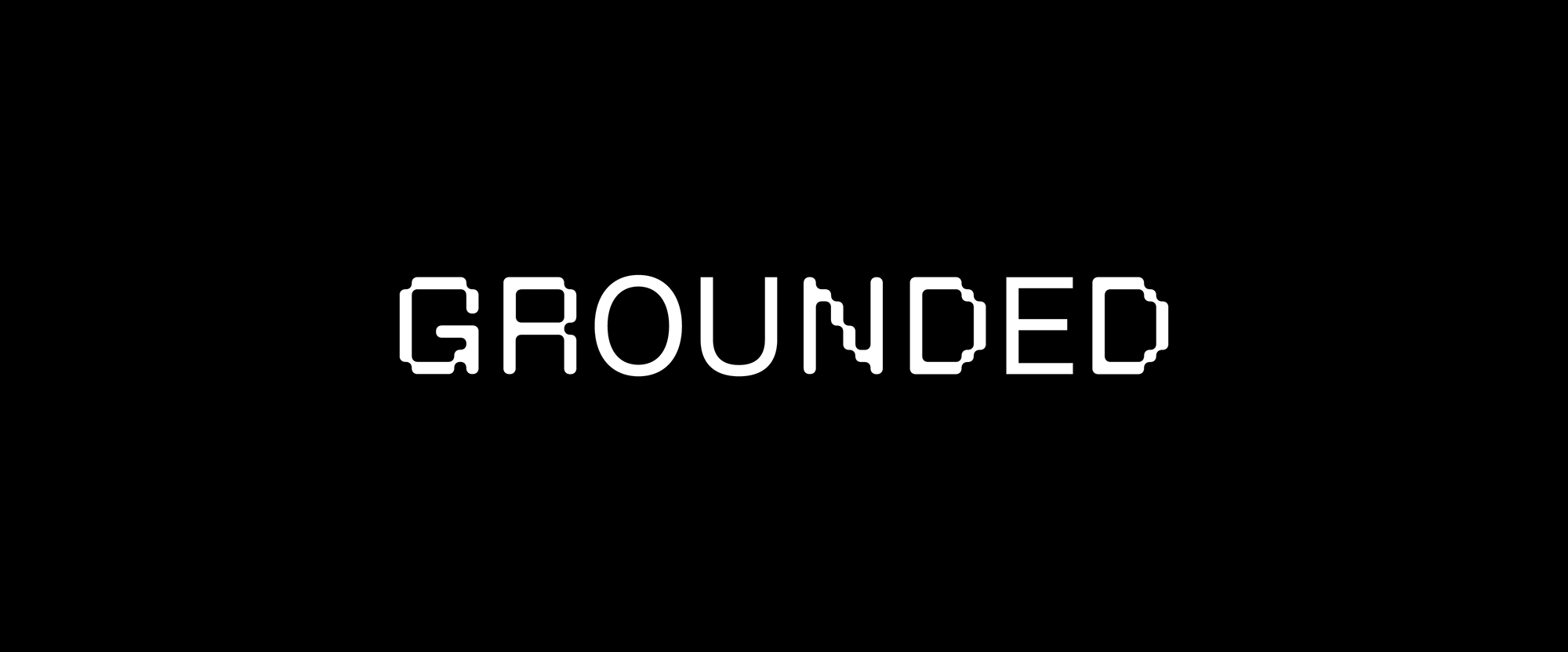 New Logo and Identity for Grounded by OMSE and Family Type