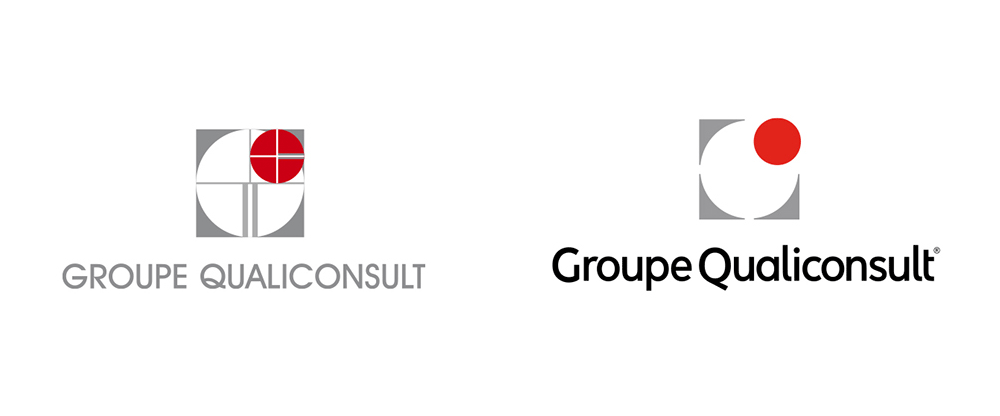 New Logo and Identity for Groupe Qualiconsult by Graphéine