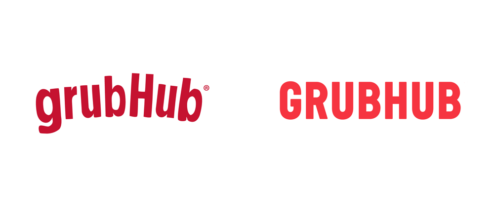 Brand New New Logo And Identity For Grubhub By Wolff Olins
