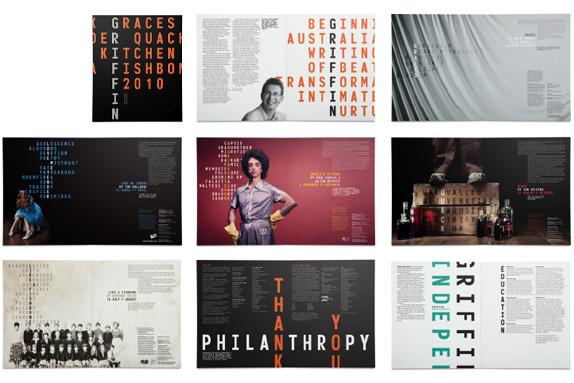Griffin Theatre Company - Brochure Spreads