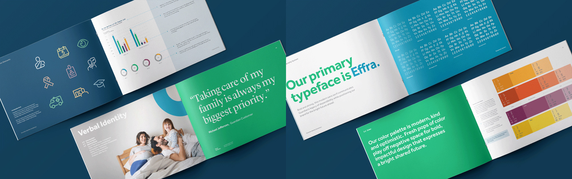 New Logo and Identity for Guardian by The Working Assembly