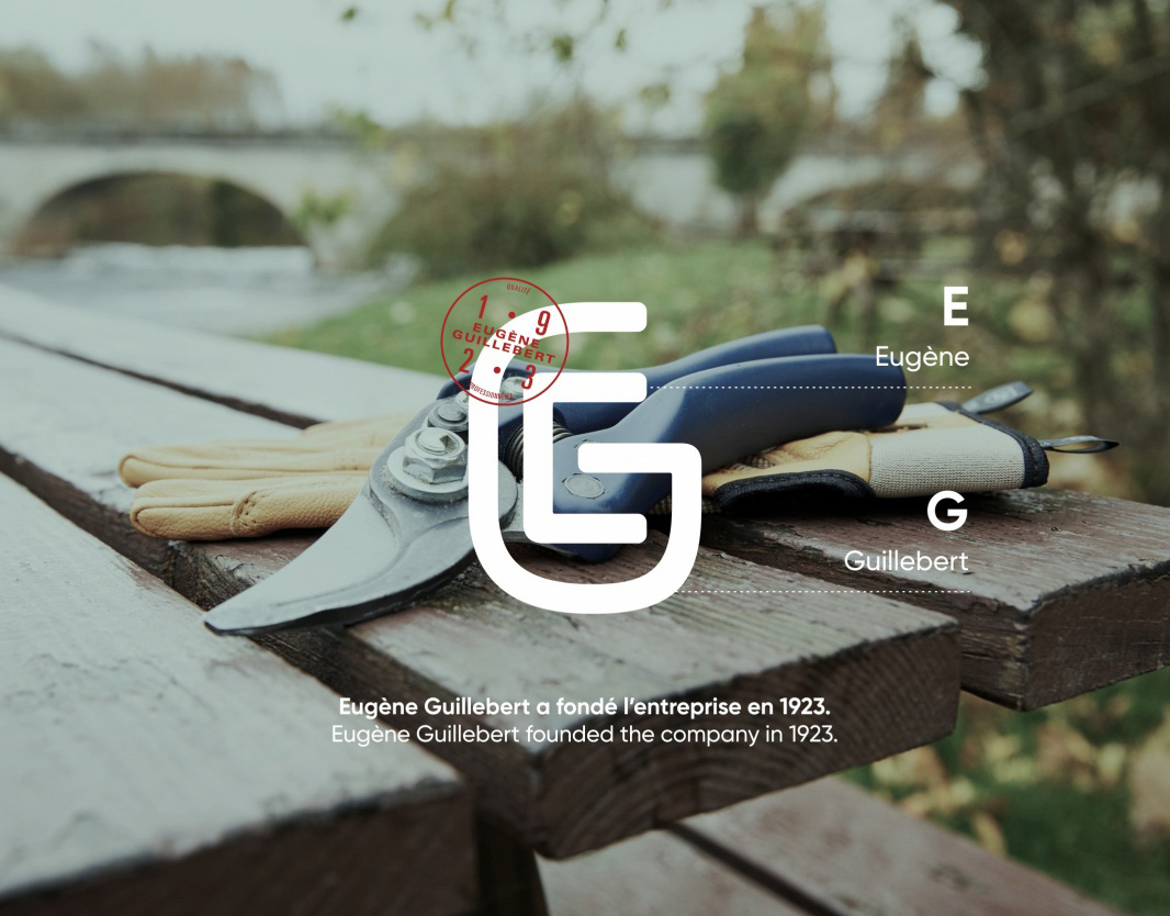 New Logo and Identity for Guillebert by Brand Brothers