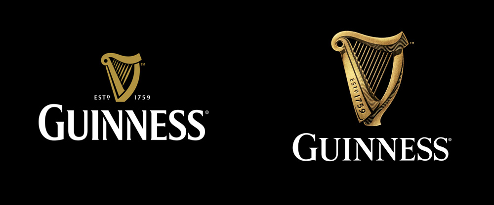Brand New: New Logo for Guinness by Design Bridge