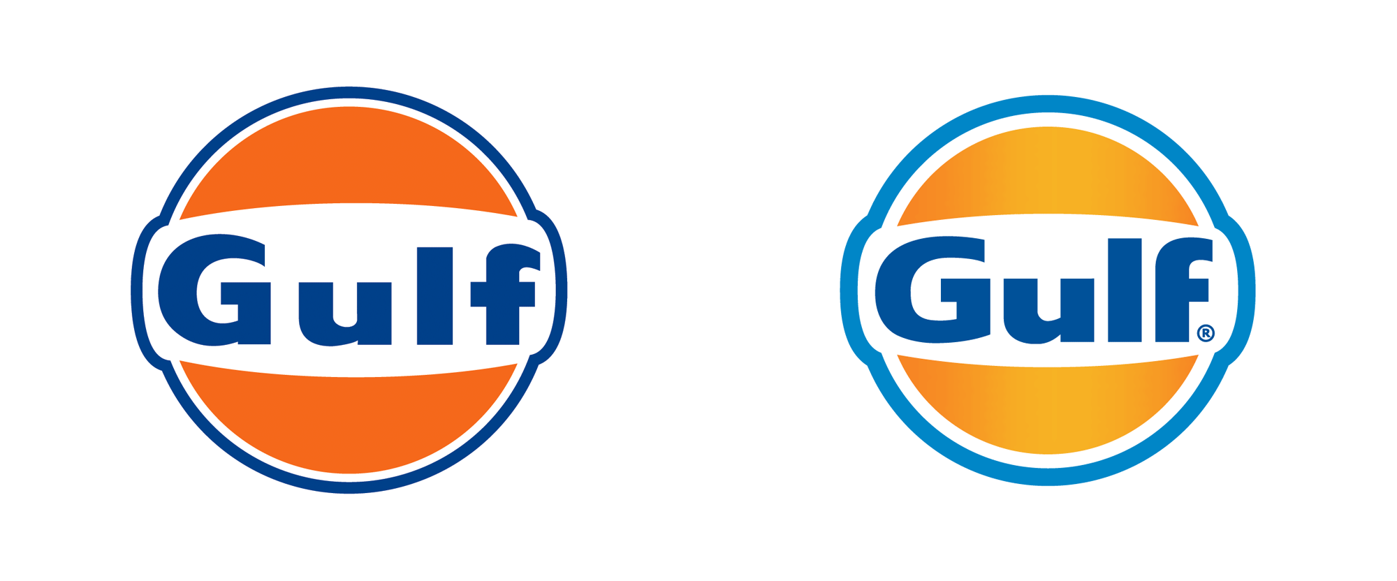 New Logo for Gulf Oil
