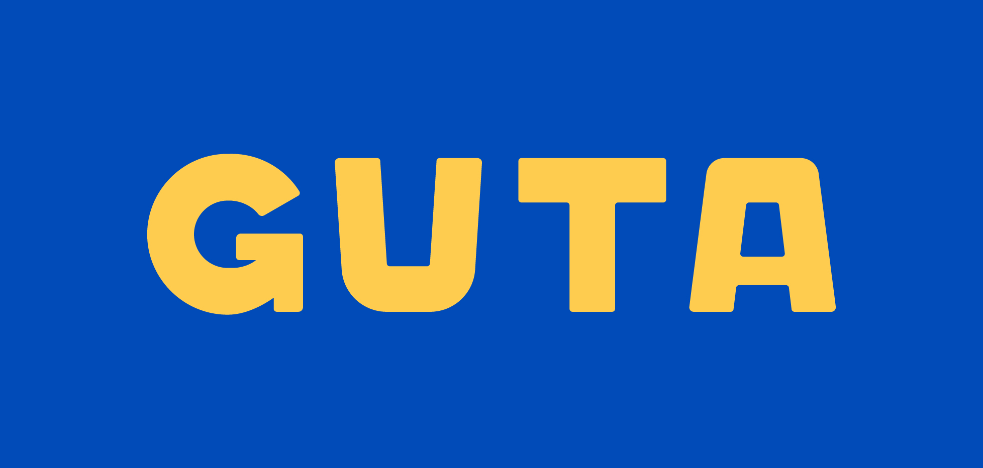 New Logo and Identity for Guta by M -- N Associates