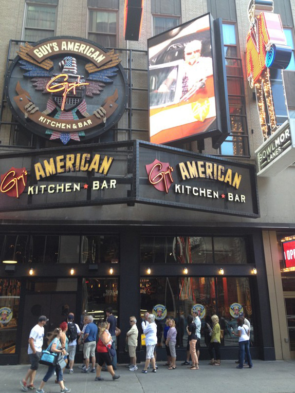 Brand New Guy Fieri Invades Times Square